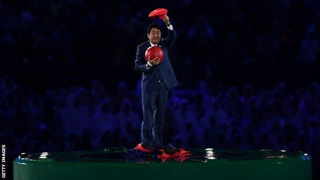 Japan's Prime minister Shinzo Abev