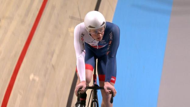 100224689 p05zpdjz - Track Biking World Championships: Big Britain settle for silver in personnel speed
