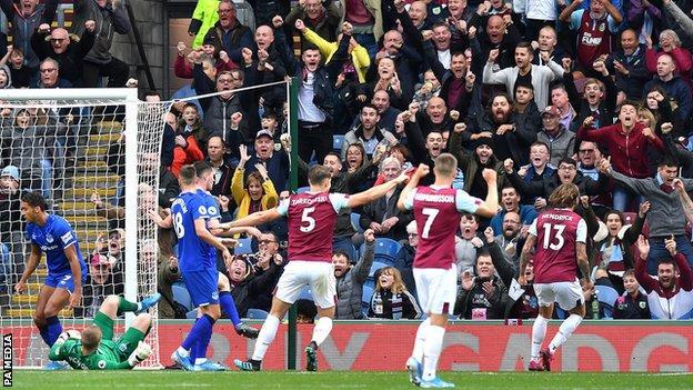 Burnley 1 0 Everton Jeff Hendrick S Goal Gives Clarets Victory Bbc Sport