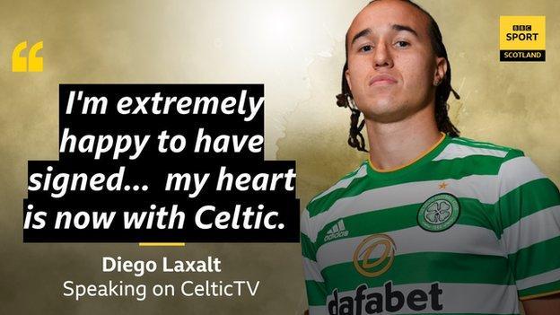 Diego Laxalt: Celtic sign AC Milan left-back on season-long loan ...