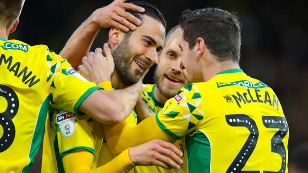 Norwich City 2-1 Blackburn Rovers: Canaries promoted after Stiepermann & Vrancic goals thumbnail