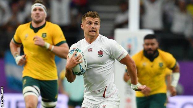 Henry Slade against Australia