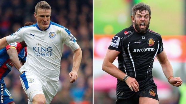 Robert Huth and Geoff Parling