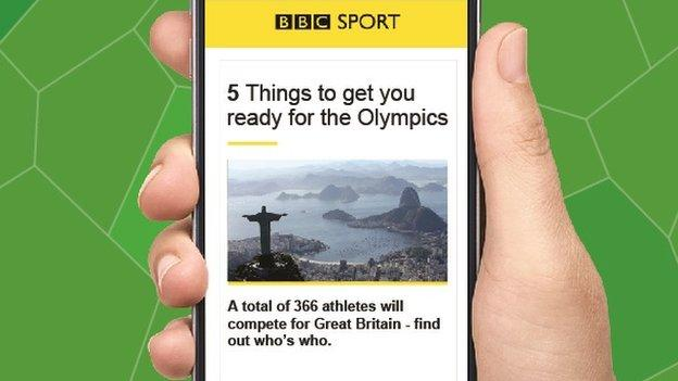 BBC Sport newsletter