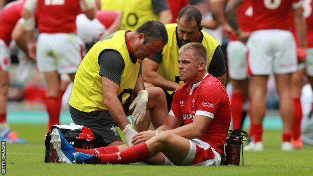 Gareth Anscombe has played 27 Tests for Wales since his debut in 2015