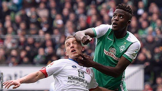 Papy Djilobodji is on loan until the end of the season