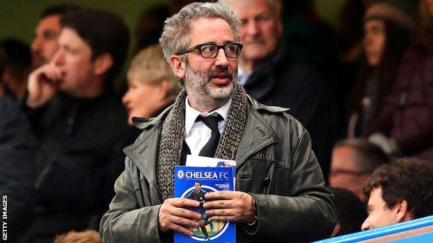 Comedian and author David Baddiel