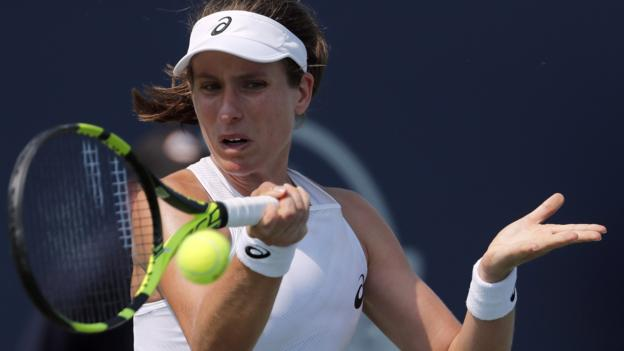 Johanna Konta wins in Connecticut Open first round against Laura Siegemund thumbnail