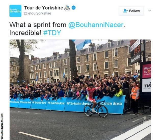 Nacer Bouhanni wins stage two