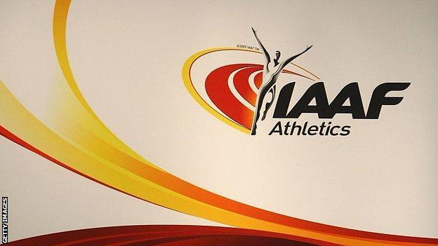 The IAAF logo
