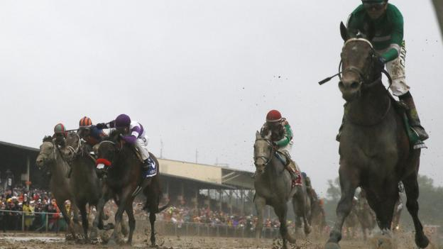 Nyquist with Mario Gutierrez aboard, third from left