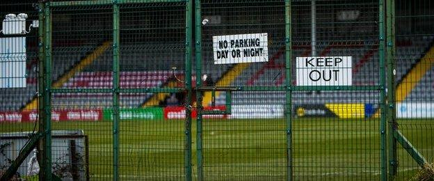 Sports clubs across NI have been forced to close because of the coronavirus pandemic