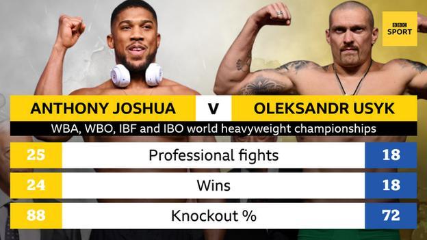 Joshua and Usyk