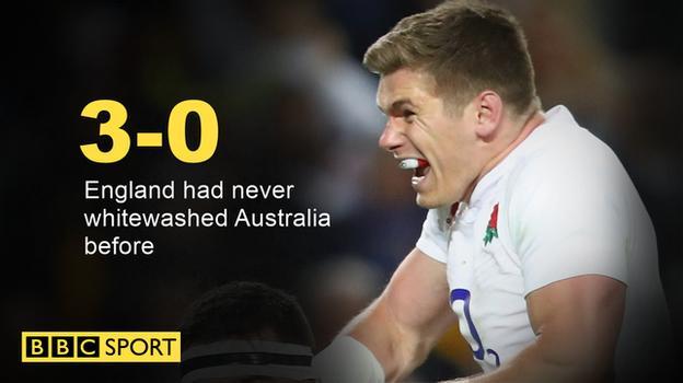 England whitewash graphic