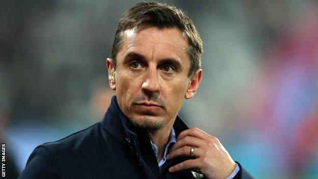 Gary Neville Ex Man Utd Right Back Criticises Old Trafford Recruitment Bbc Sport