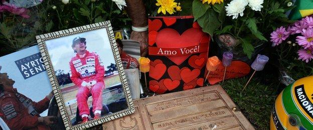 Ayrton Senna tributes