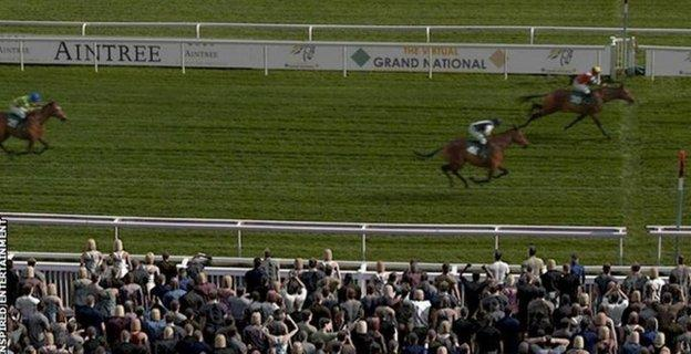Potters Corner won the Virtual Grand National last year, which had a peak TV audience of 4.8m and raised more than £2.6m for NHS Charities Together