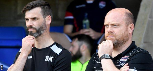 Stuart Kettlewell and Steven Ferguson