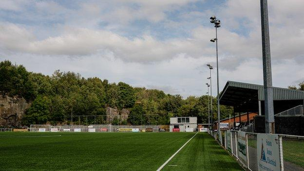 The Rock, home of Cefn Druids