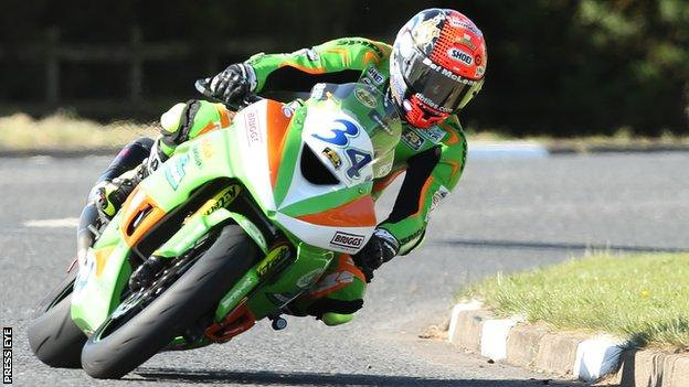 Alastair Seeley was a double Supersport winner on his Gearlink Kawasaki in 2016
