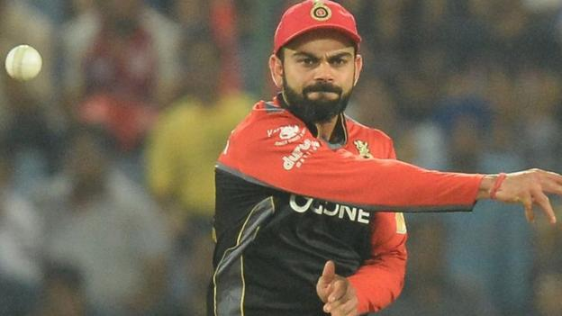 Indian Premier League: Virat Kohli criticises umpires for 'ridiculous' missed no-ball thumbnail