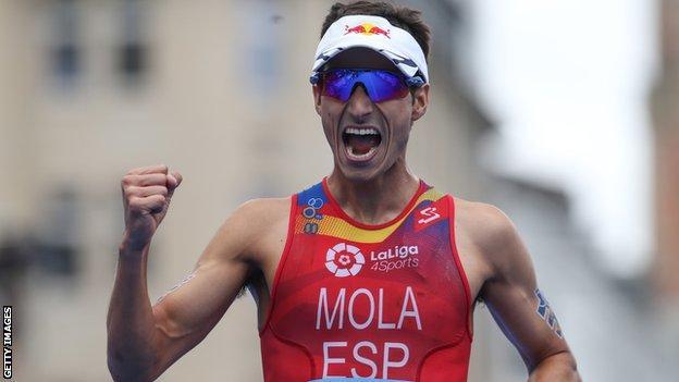 Mario Mola has won the Hamburg event three times in a row
