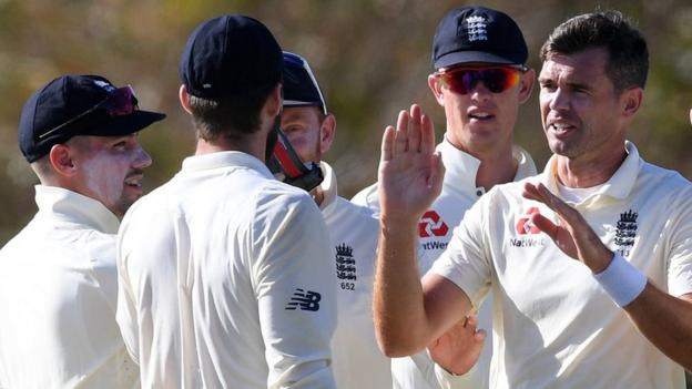 England preparation for West Indies 'not ideal', says James Anderson thumbnail