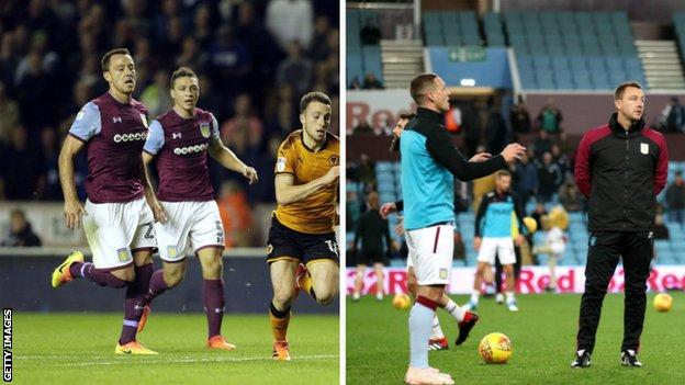John Terry and James Chester: From team-mates last season to player and coach this season
