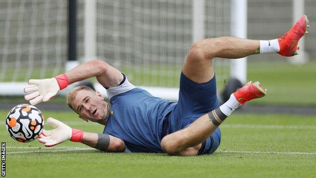 Joe Hart played 10 times for Tottenham in cup competitions last season