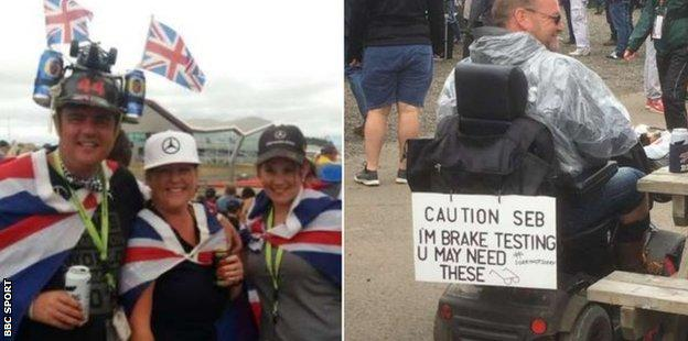 British Grand Prix fans