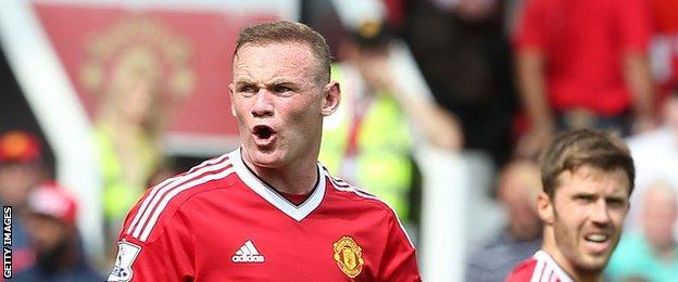 Wayne Rooney & Michael Carrick
