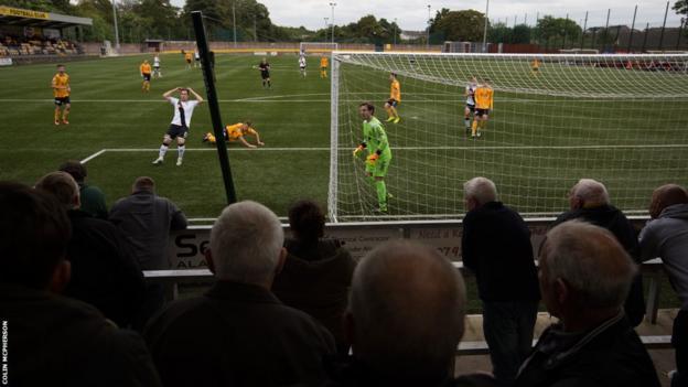 Annan Athletic v Edinburgh City