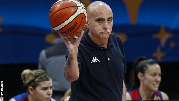 GB coach Jose Maria Buceta