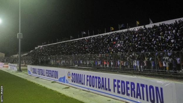 Somali football fans
