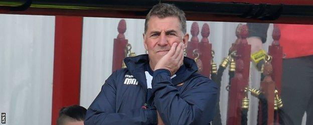 New Motherwell manager Mark McGhee