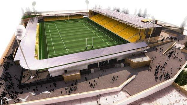 Stadium for Cornwall