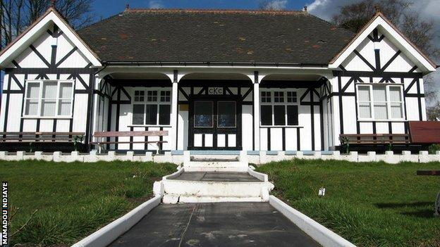 Knypersley Cricket Club possesses one of this country's more attractive pavilions