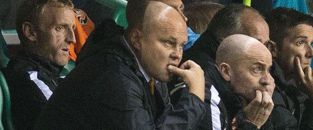 Dundee United manager Mixu Paatelainen