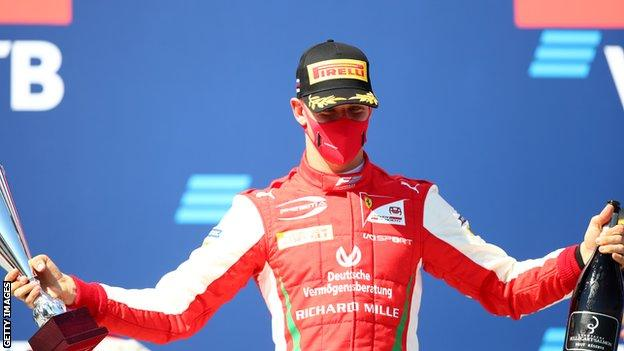 Mick Schumacher one of three Ferrari academy drivers to make F1 race weekend debuts (2020)
