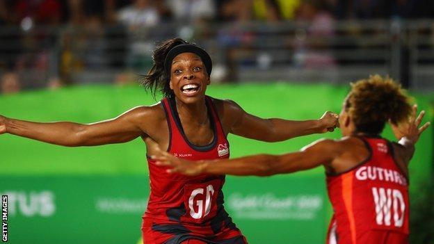 Eboni Usoro-Brown and Serena guthrie