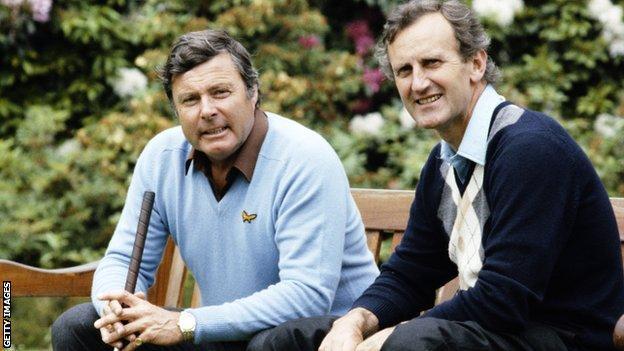 Peter Allis og Ted Dexter
