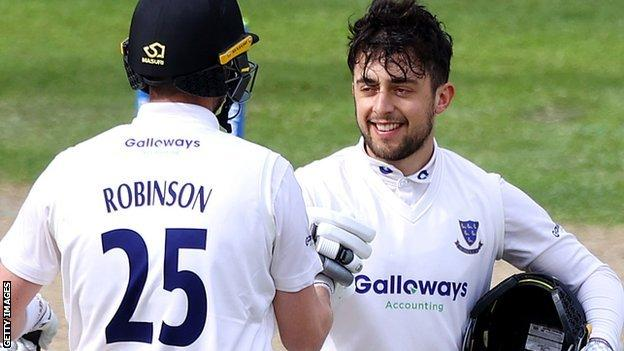 Ollie Robinson and Tom Haines