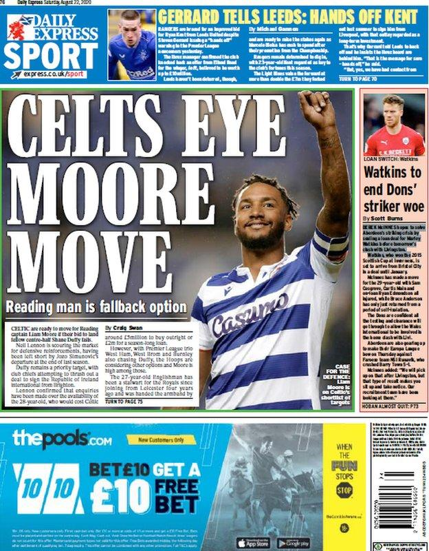 Today's Scottish Daily Express
