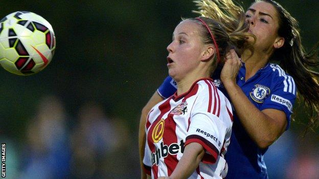 Beth Mead in action against Chelsea