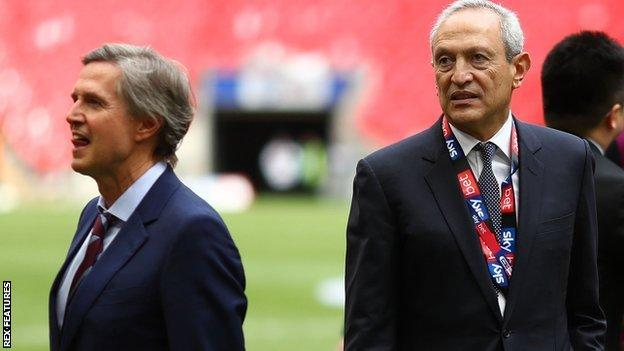 Christian Purslow and Villa co-owner Nassef Sawiris