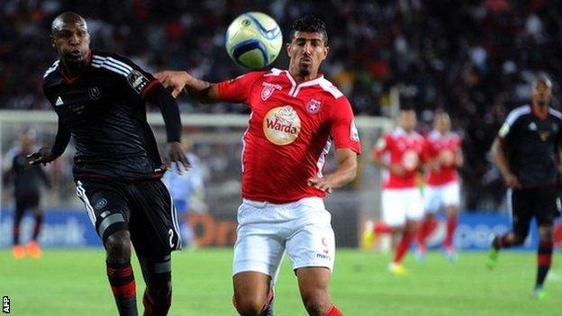 Orlando Pirates host Etoile Du Sahel in first leg of 2015 Confederation Cup Final