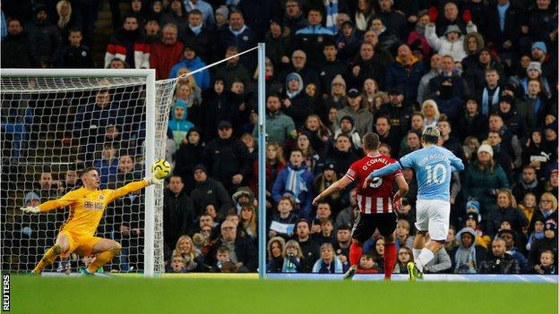 Manchester City secured a first clean-sheet home win since 26 October