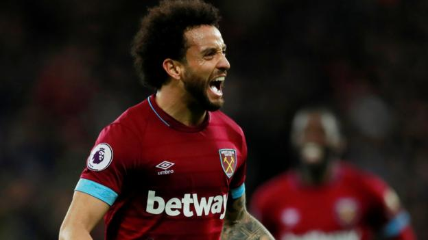 Felipe Anderson: West Ham midfielder on family, humble origins and his friend Neymar thumbnail