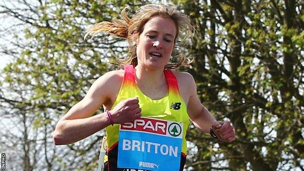 Fionnuala McCormack has travelled home from the US after running the Olympic 10,000m standard last weekend
