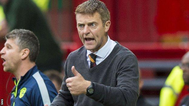 Stephen Craigan urges Motherwell on